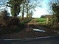 Muddy track to Slade Farm - geograph.org.uk - 345149.jpg