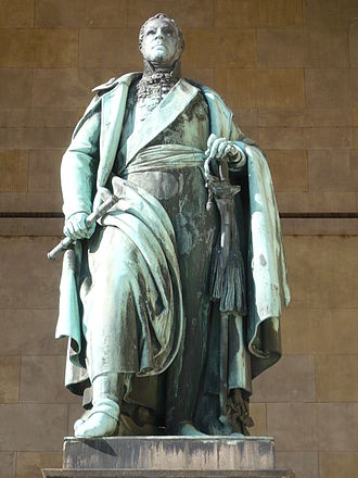 Karl Philipp von Wrede - Statue of Wrede at the Field Marshall's Hall in Munich