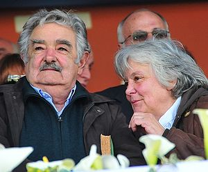 José Mujica - Mujica and his wife