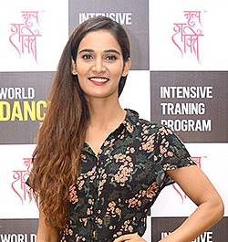 Mukti Mohan at celebrations for World Dance Day 3 (cropped).jpg