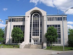 Muncie, Indiana - The Muncie City Hall in 2005