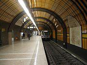 Munich subway station Theresienwiese