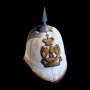 Pith helmet of the Second French Empire.