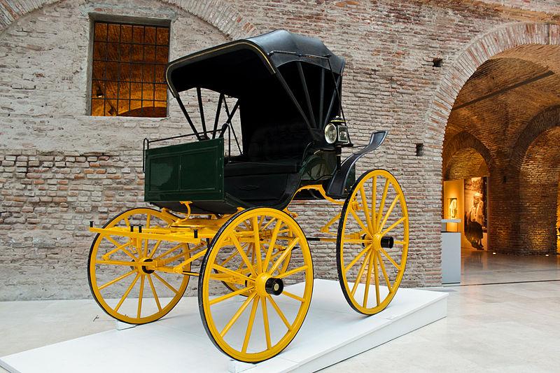 File:Museo del Bicentenario - Phaeton, de Hipólito Yrigoyen.jpg
