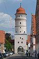 Nördlingen, Stadtbefestigung, Deininger Tor, Stadtseite, 002.jpg