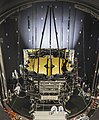 "NASA's Webb Telescope ""chilling out"" in Houston for the summer (34625117194).jpg"