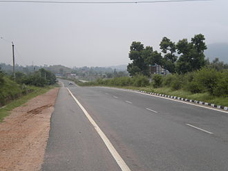 North–South and East–West Corridor - Image: NH 8 a view from Rajastan