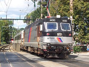 ABB ALP-44 - Image: NJ Transit ABB ALP 44M 4430