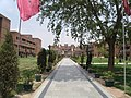 NSIT Delhi - path from Academic and Administrative Block to Library, wide angle.JPG