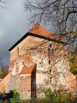 Trakai Peninsula Castle - The largest and best-preserved southern tower