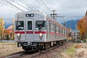 TRTA 3000 series - Image: Nagano Dentetsu 3515 Asahi