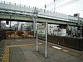 Nankai Imamiyaebisu Station platform - panoramio (21).jpg