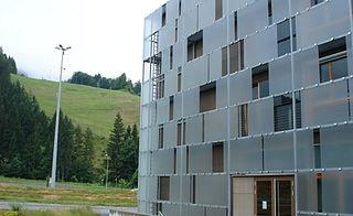 Nassfeld Town and ski resort in Austria