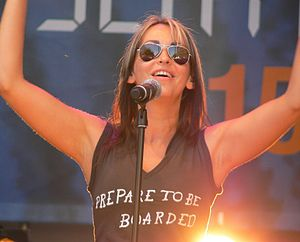 All Saints (group) - Image: Natalie Appleton of All Saints (2007)