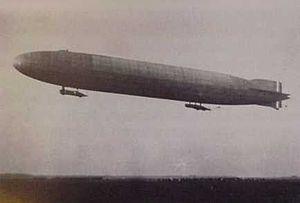 The Sky Hawk - A Zeppelin raid on London was the climactic scene of The Sky Hawk.