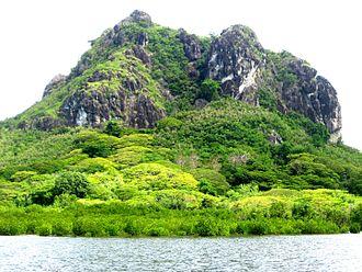 Rakiraki District, Fiji - Navatu Rock