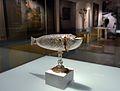 Naveta amb forma de peix, segle XVI, Museu Diocesà d'Albarrasí.JPG