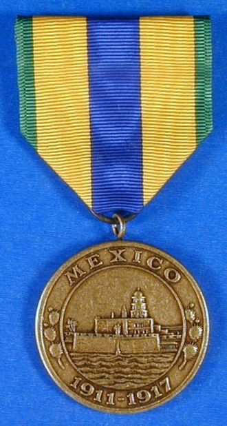 Obsolete military awards of the United States - Image: Navy Mex Med