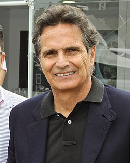Nelson Piquet racing driver, three-time Formula1 champion in the 1980s