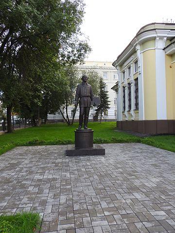 Памятник Нестереву М. В. в Уфе
