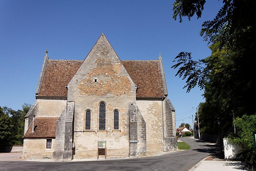 Eglise de la commune de Saint-Loup.