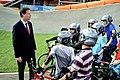 Nick Clegg visits Manchester Velodrome (7735957668).jpg