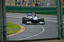 Photo de la Williams FW32 de Nico Hülkenberg à Melbourne