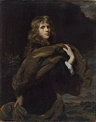 Portrait of a Young Man with a Long Velvet Cloak