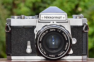 Nikkormat - Rare Nikkormat FS with NIKKOR-H Auto 1:2 f=50mm lens