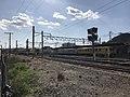 Nishi-Karatsu Station from east side.jpg