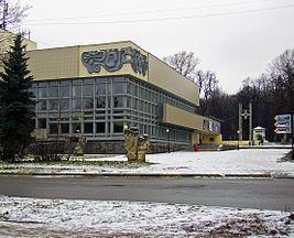 Nizhny Novgorod. At Osharskaya & Maxim Gorky Streets crossing.jpg