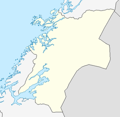 Namsenfjorden is located in Nord-Trøndelag