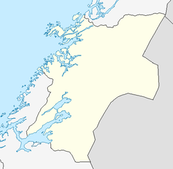 Ogndal herred is located in Nord-Trøndelag