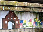 Nordertor, Mauerbemalung, Realschule West, Flensburg, Bild 01.JPG