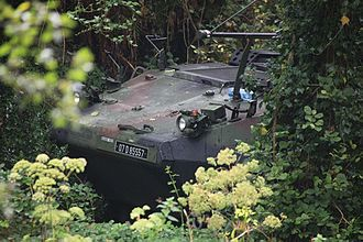 EU Battlegroup - Irish Mowag Piranha during an exercise in 2010.