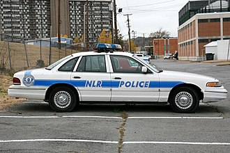 Ford Crown Victoria Police Interceptor - Image: North Little Rock Police (3112604311)