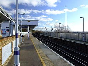 Northfleet railway station - Image: Northfleet Station 8835