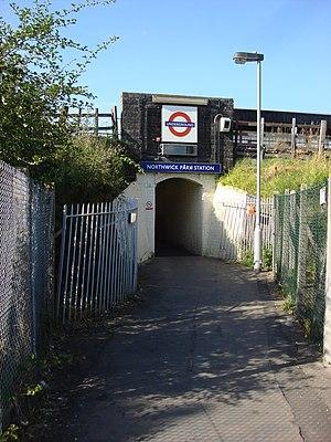 Northwick Park tube station - Image: Northwick Park tube station 3