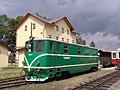 Nová Bystřice, nádraží, lokomotiva T 47.005.jpg