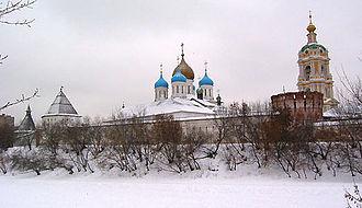 Andrei Kobyla - Novospassky Monastery where many of Kobyla's male-line descendants have been buried.