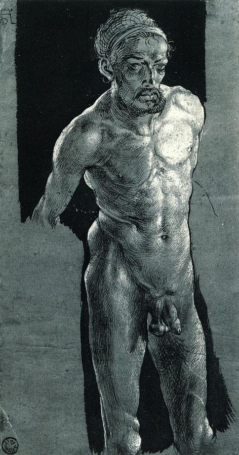 self-portrait in the nude