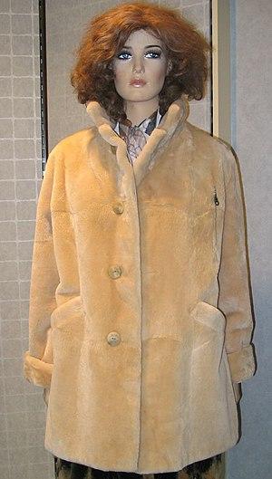 Fur clothing - Coypu jacket, reversible (2008)