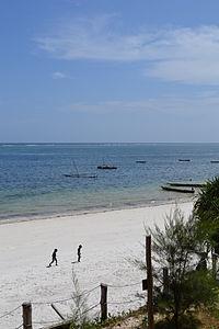 Nyali Beach from the Reef Hotel during high tide in Mombasa, Kenya 3.jpg