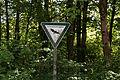 Nymphenburg - Schlossmauer - Schild Landschaftsschutzgebiet 002.jpg