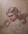 Nyuta (A.I.Lebedeva, nee Makarova, painter's daughter) by I.Makarov (1860s) 2.jpg