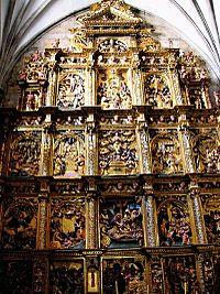 Oñate - Iglesia de San Miguel - retablo de la capilla de la Piedad.jpg