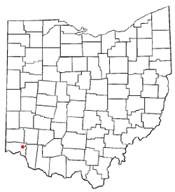 Location of Dillonvale, Ohio