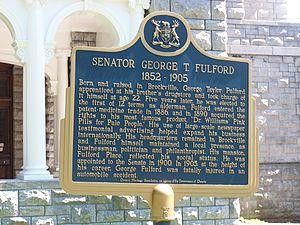 Fulford Place - Image: OHT Plaque for Senator Fulford