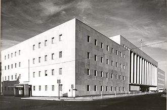 William J. Holloway Jr. United States Courthouse - 1962 photograph of the Federal Building and United States Courthouse, Oklahoma City, Oklahoma.