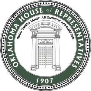 Oklahoma House of Representatives - Image: OK House of Representatives Seal